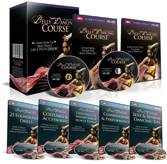 belly dancing dvd video course